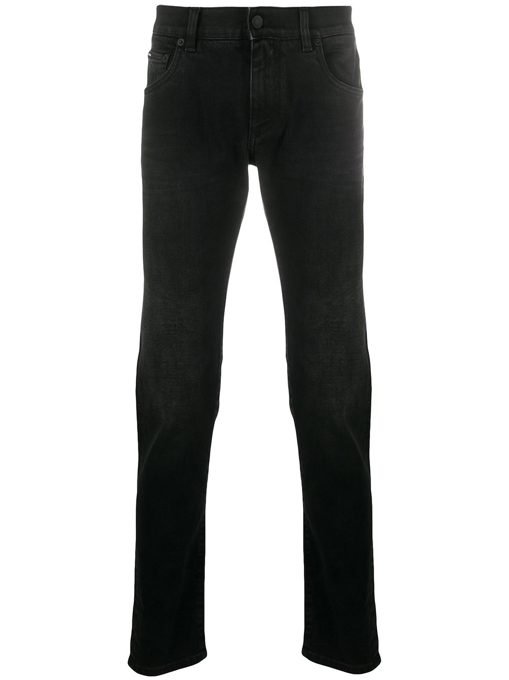 black slim-fit stretch denim jeans  DOLCE & GABBANA |  | GY07LD-G8CO2S9001