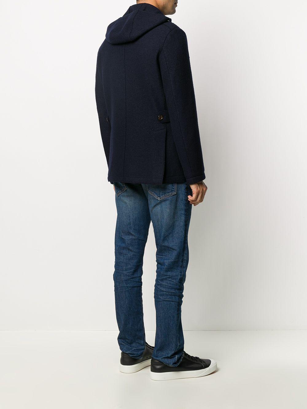 Giacca militare in lana vergine blu ELEVENTY | Giacche | B70GIAB02-CAS2400419