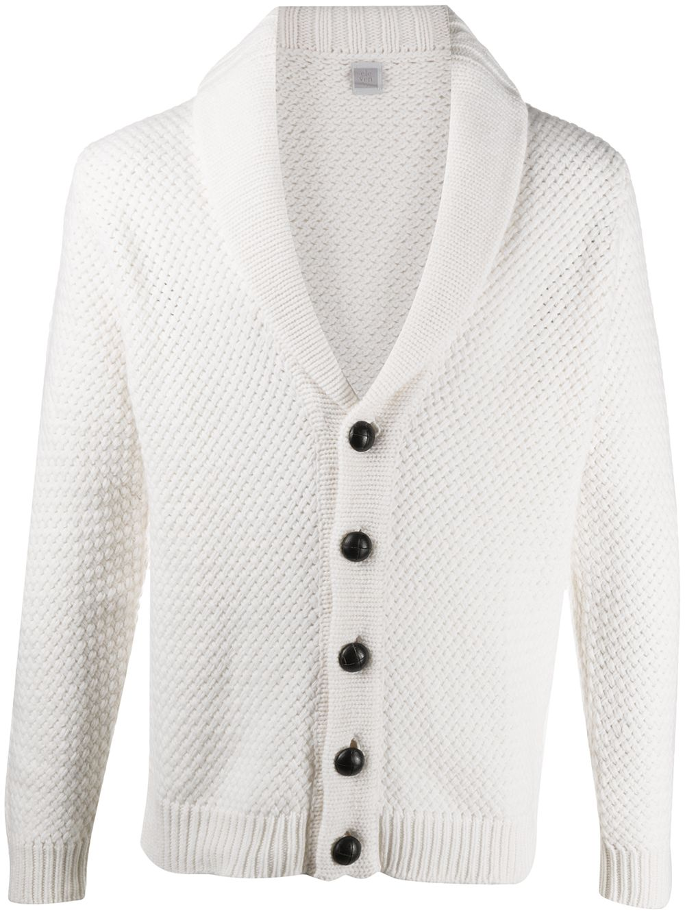 Cream wool cardigan featuring knitted construction ELEVENTY      B71MAGB35-MAG0B02301