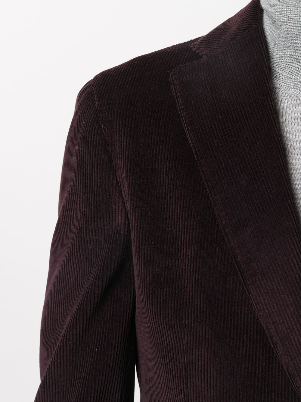 Giacca in cotone viola con revers a dente ELEVENTY | Giacche | B75GIAA02-JAC2800110