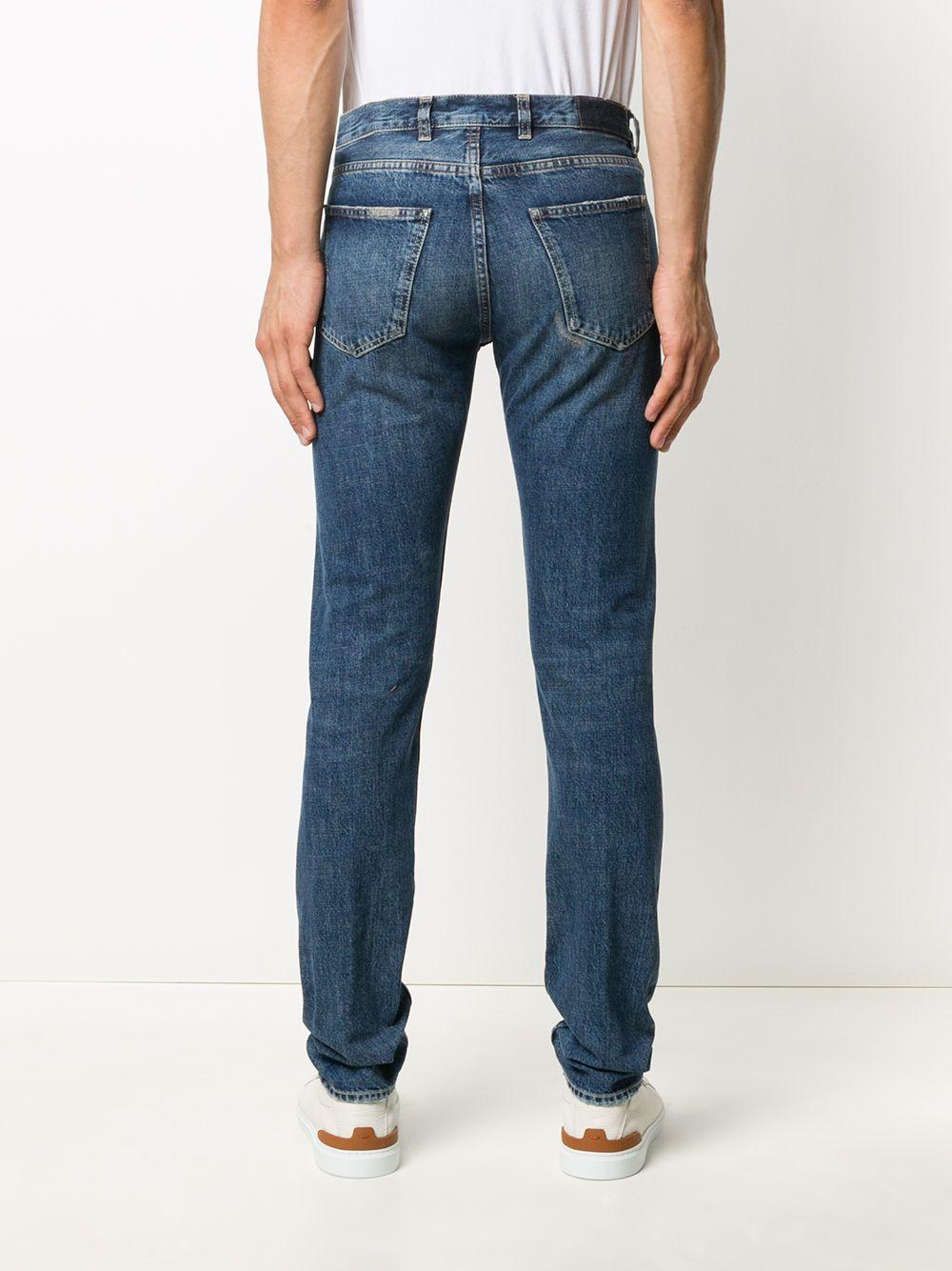 distressed slim fit denim jeans  ELEVENTY |  | B75PANB16-TET0B02808