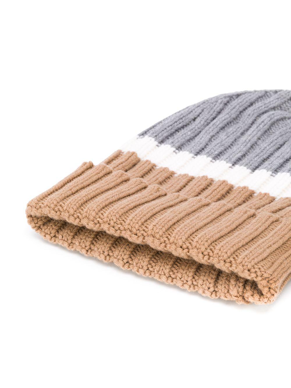multicolored long colour block wool beanie hat  ELEVENTY |  | B76CLPB02-MAG0B00514-01
