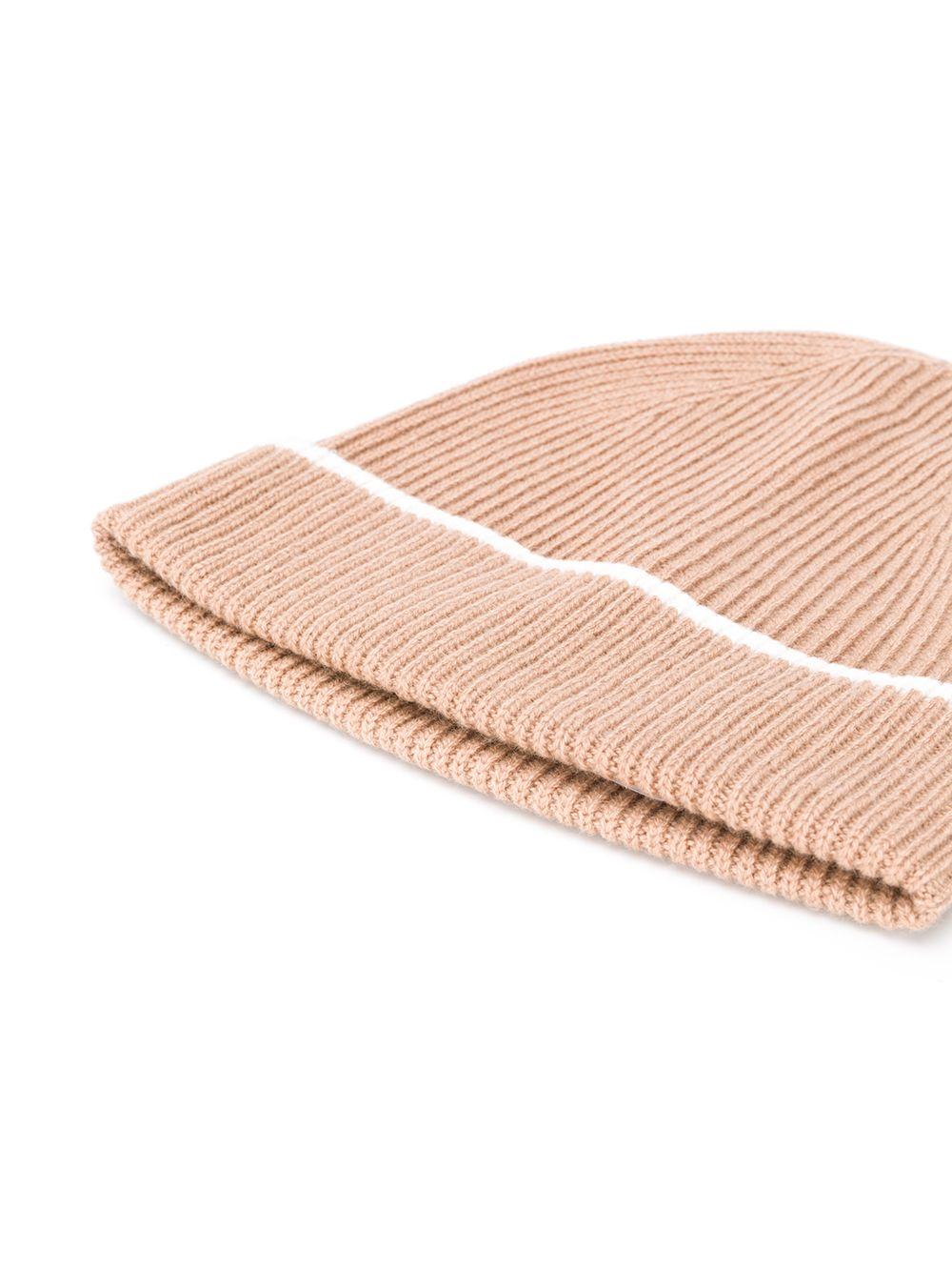 berretto in cachemere marrone cammello ELEVENTY | Cappelli | B77CPLB07-MAG0B05304-01