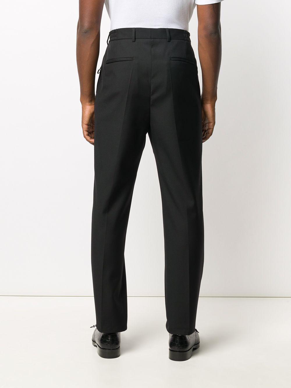 pantaloni sartoriali classici in cotone e lana neri GIVENCHY | Pantaloni | BM50KY1Y8K001
