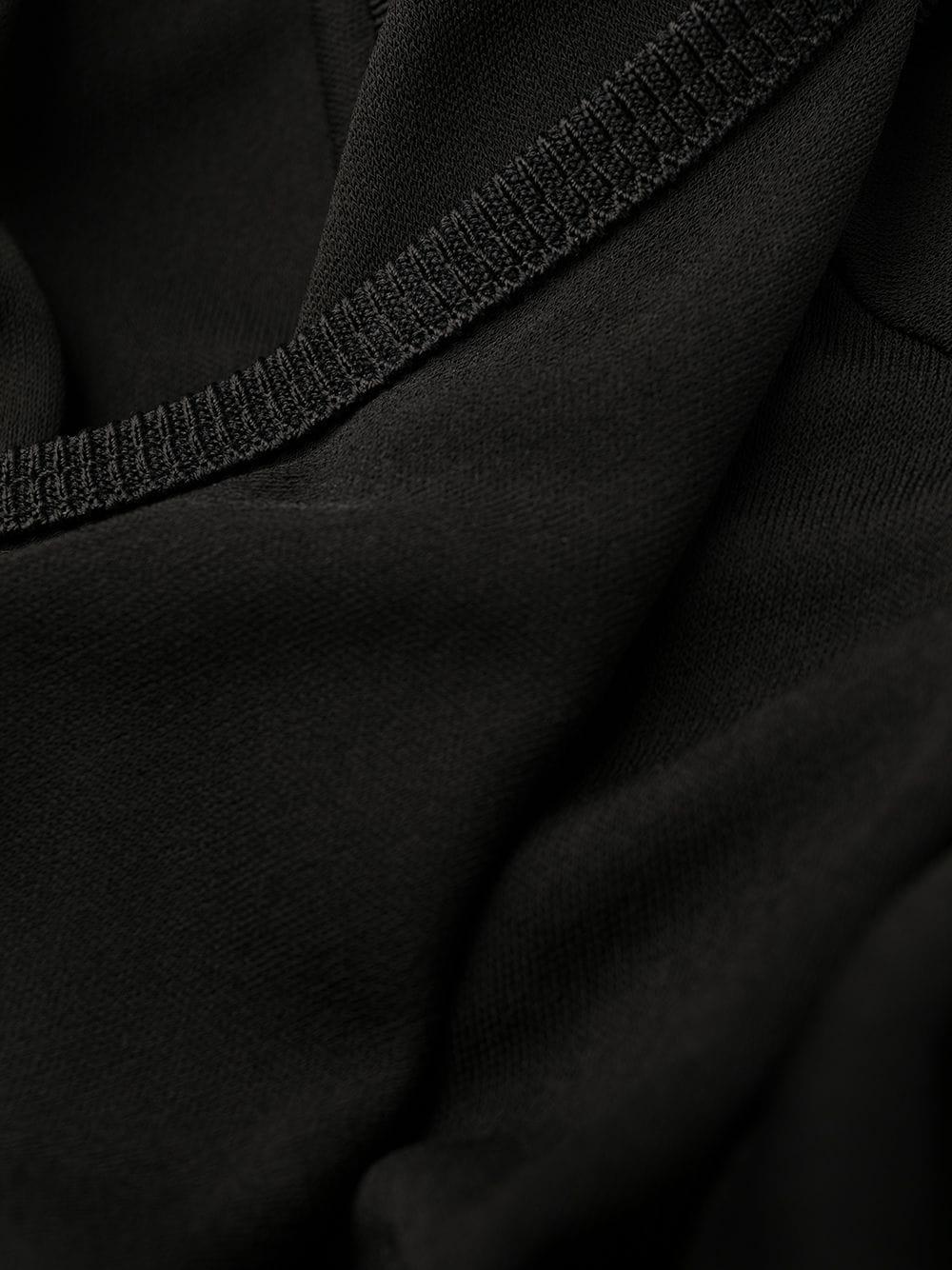 Abito in filo viscosa con gonna plissettata in misto cotone e raso nero e beige di media lunghezza GIVENCHY | Abiti | BW20PM3Z26007
