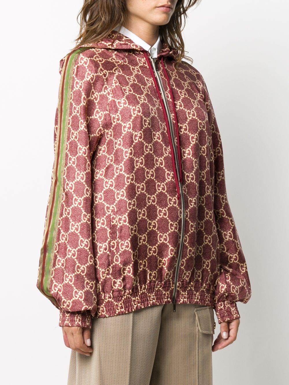 bomber in seta e cotone rosa con chiusura zip e cappuccio GUCCI   Maglieria   631880-XJCL55281