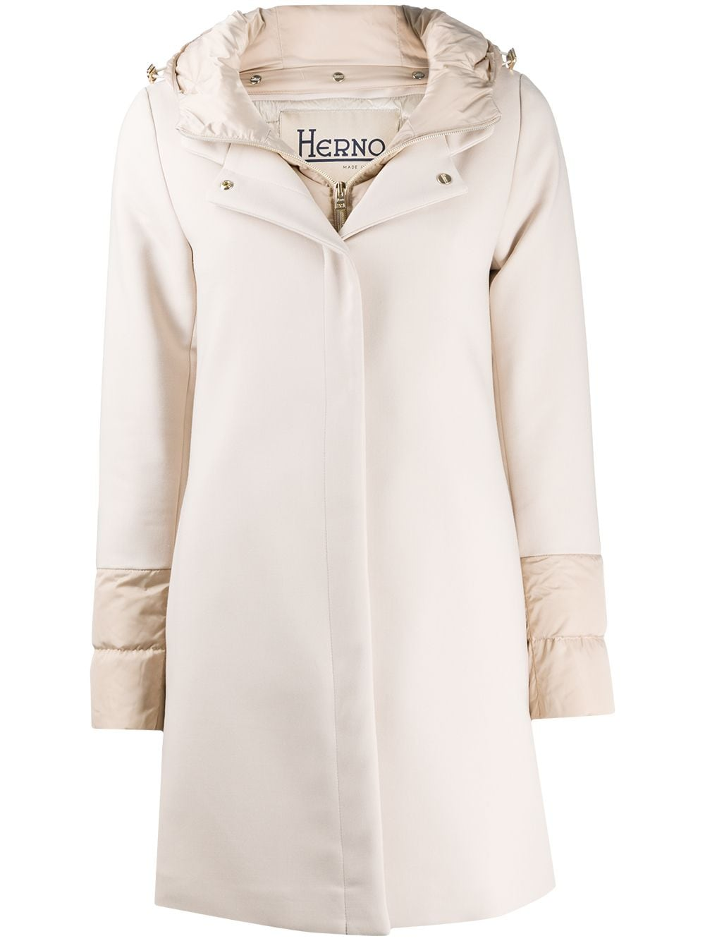 Chantilly cotton-wool blend feather down padded coat  HERNO |  | PI1157D-336001985