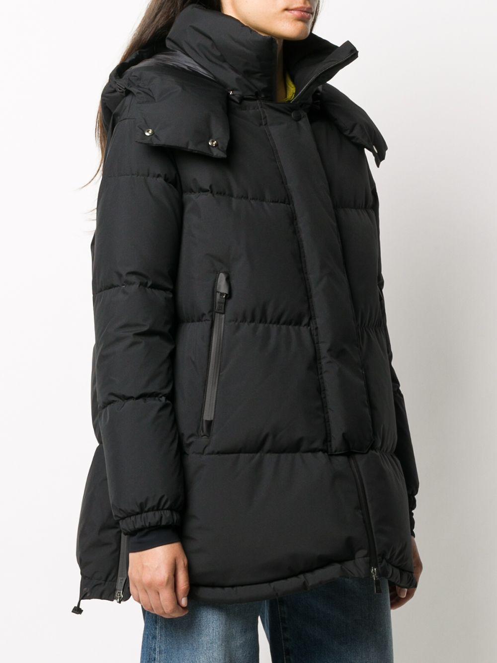 Black oversized puffer jacket featuring funnel neck HERNO |  | PI128DL-111069300