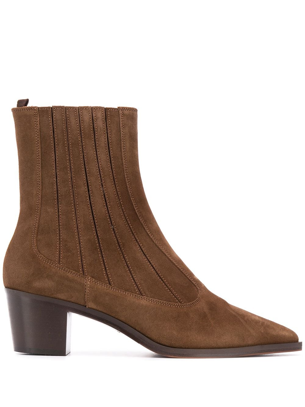 Brown leather and suede Texas split leather boots  L'AUTRE CHOSE |  | LDM082.50WC04482117
