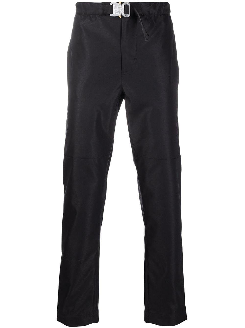 Pantaloni neri a gamba dritta Moncler Genius con chiusura con fibbia MONCLER GENIUS | Pantaloni | 2A701-00-54AD1999