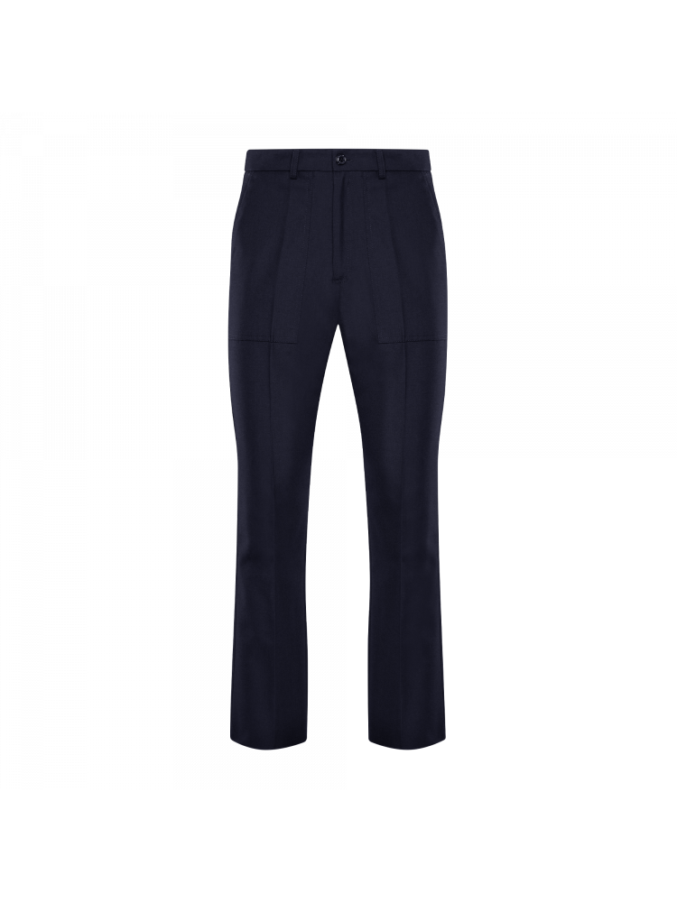 navy wool classic fit 2 Moncler Genius 1952 straight leg trousers  MONCLER GENIUS |  | 2A715-00-54ABT742