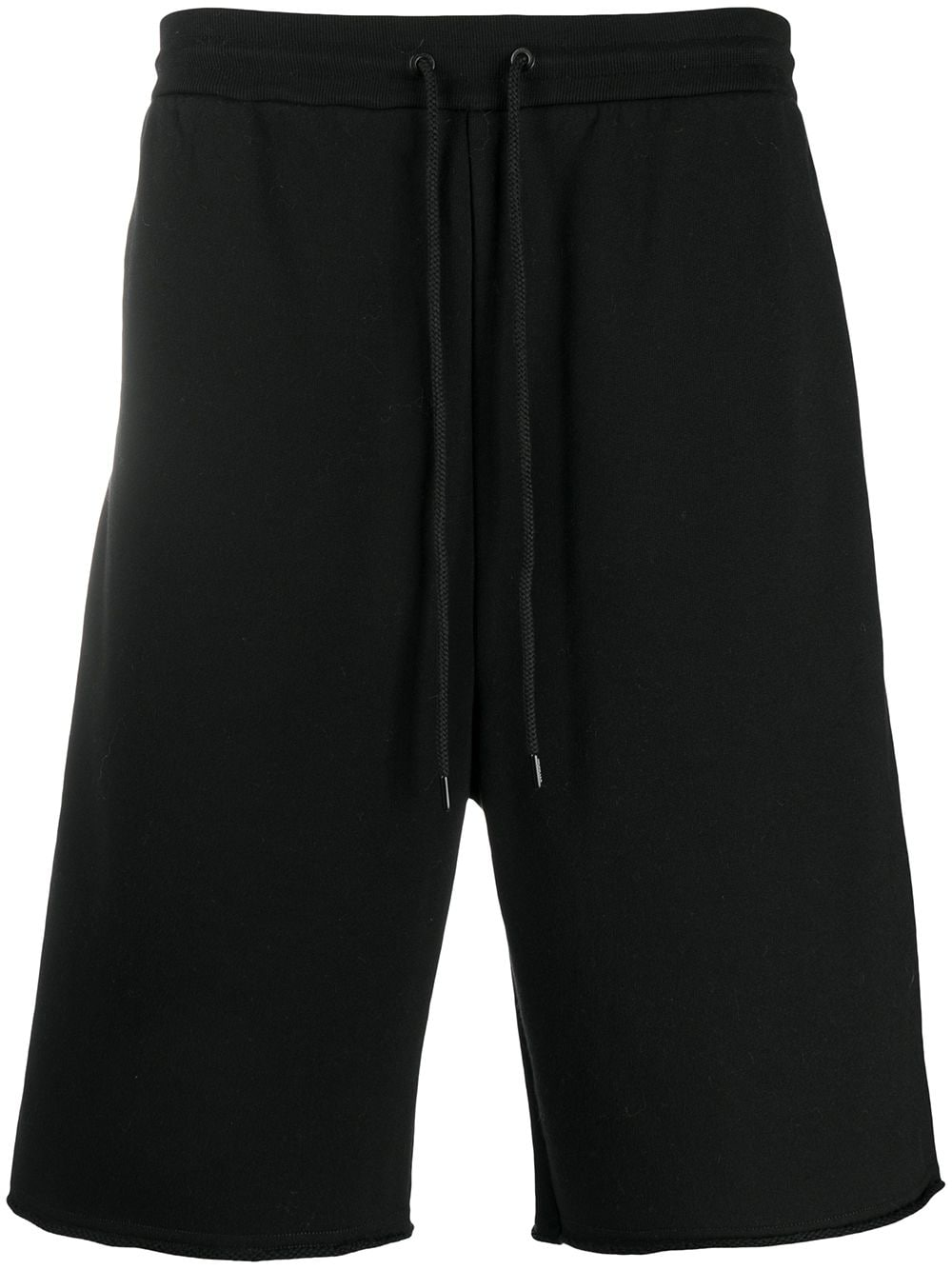 black cotton track shorts with side white printed logo pocket MONCLER GENIUS |  | 8H702-00-809F4999