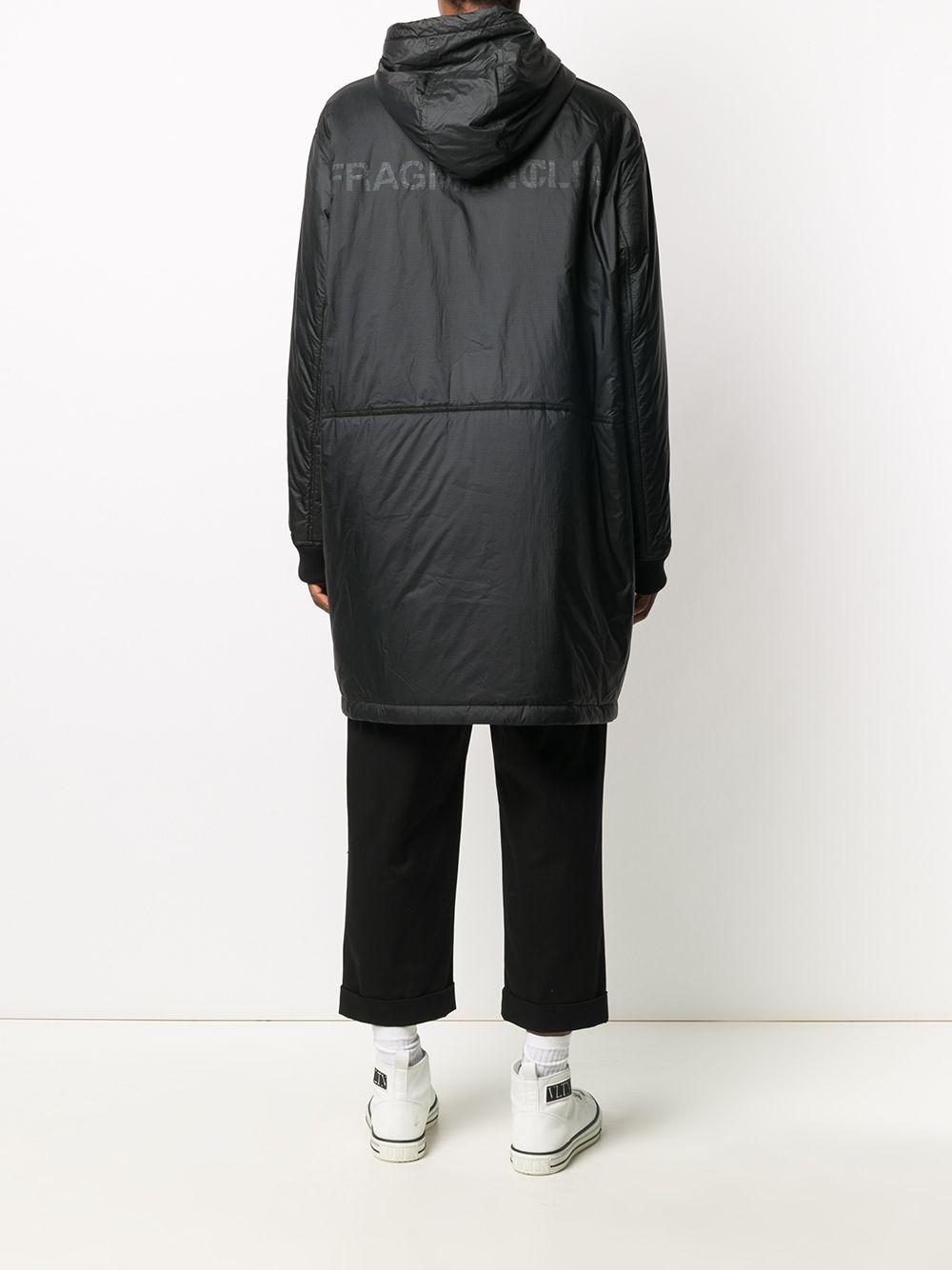 parka imbottito Bastonix  nero con cappuccio e chiusura zip MONCLER GENIUS   Impermeabili   BASTONX 1C800-10-68953999