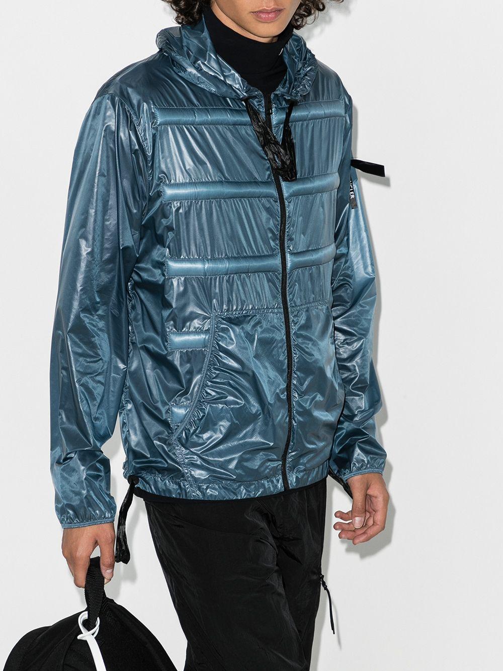 Teal shell Moncler Genius x Craig Green Peeve hooded down jacket  MONCLER GENIUS |  | PEEVE 1A702-10-C0624720
