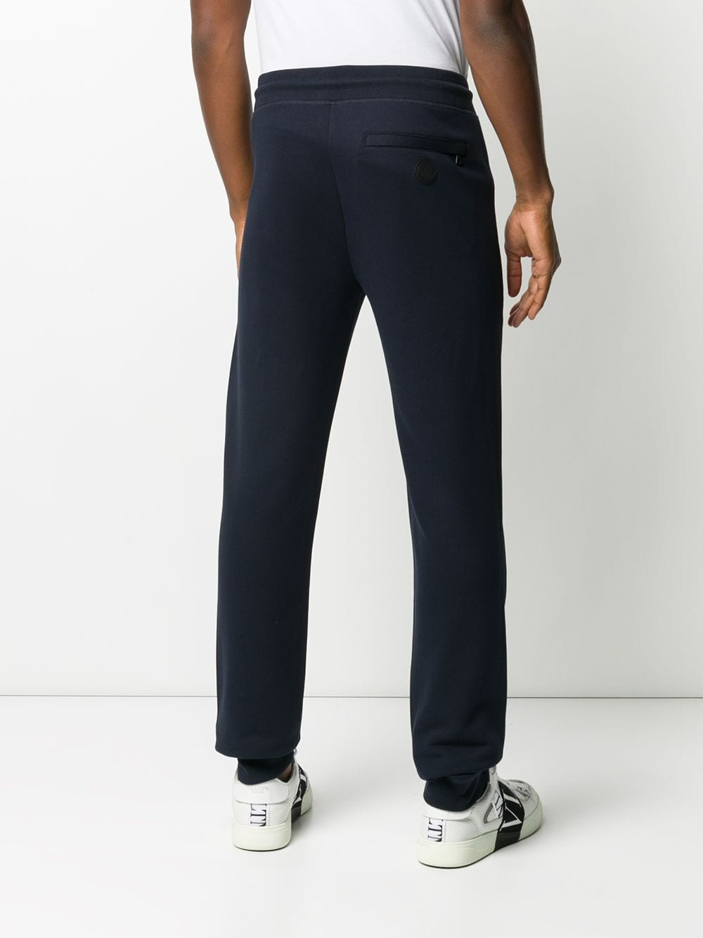 Blue white and red cotton stripe-detail track pants  MONCLER |  | 8H710-00-V8148778