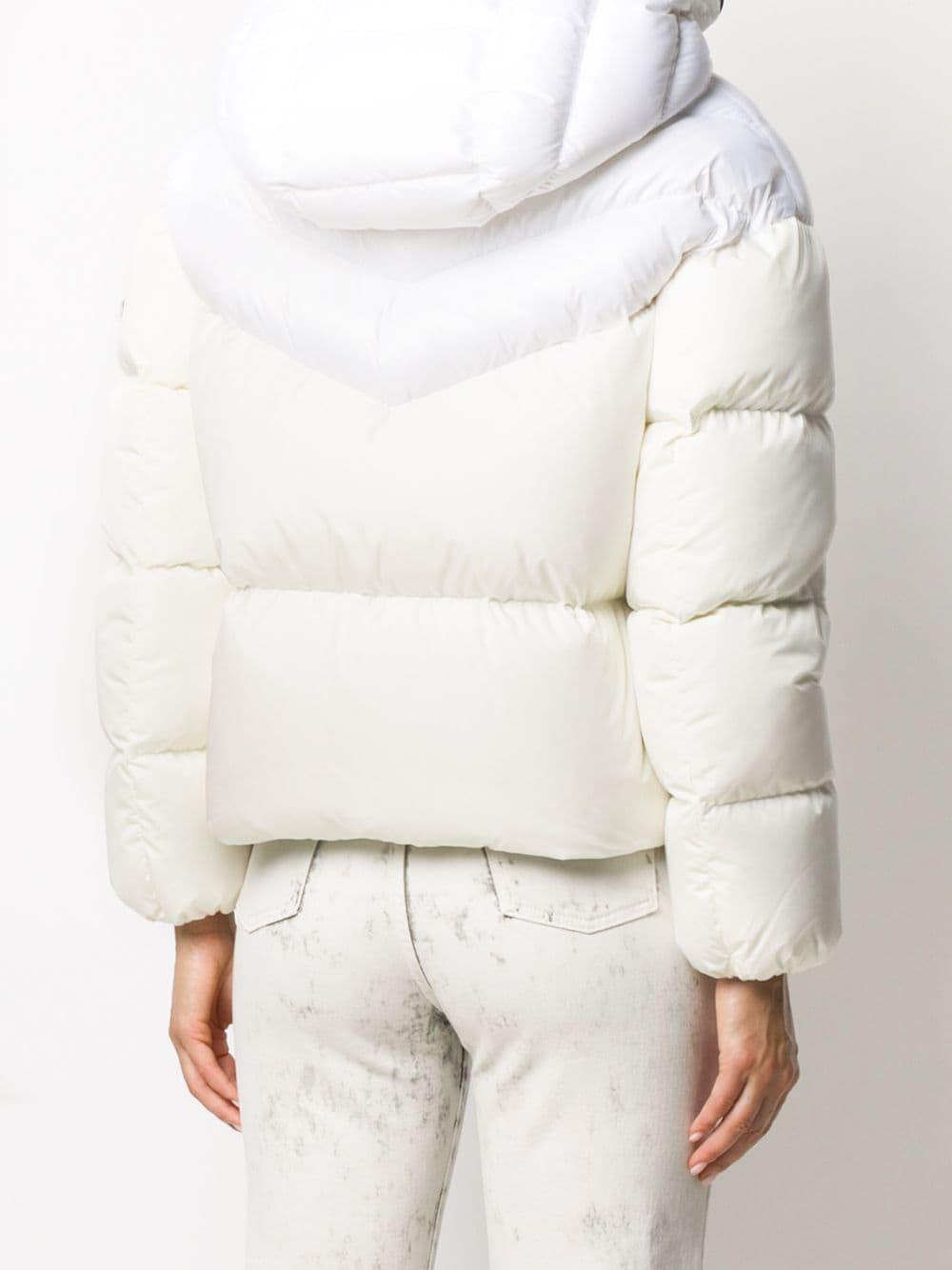 white feather hooded down Guenioc jacket MONCLER      GUENIOC 1A580-00-C0063035