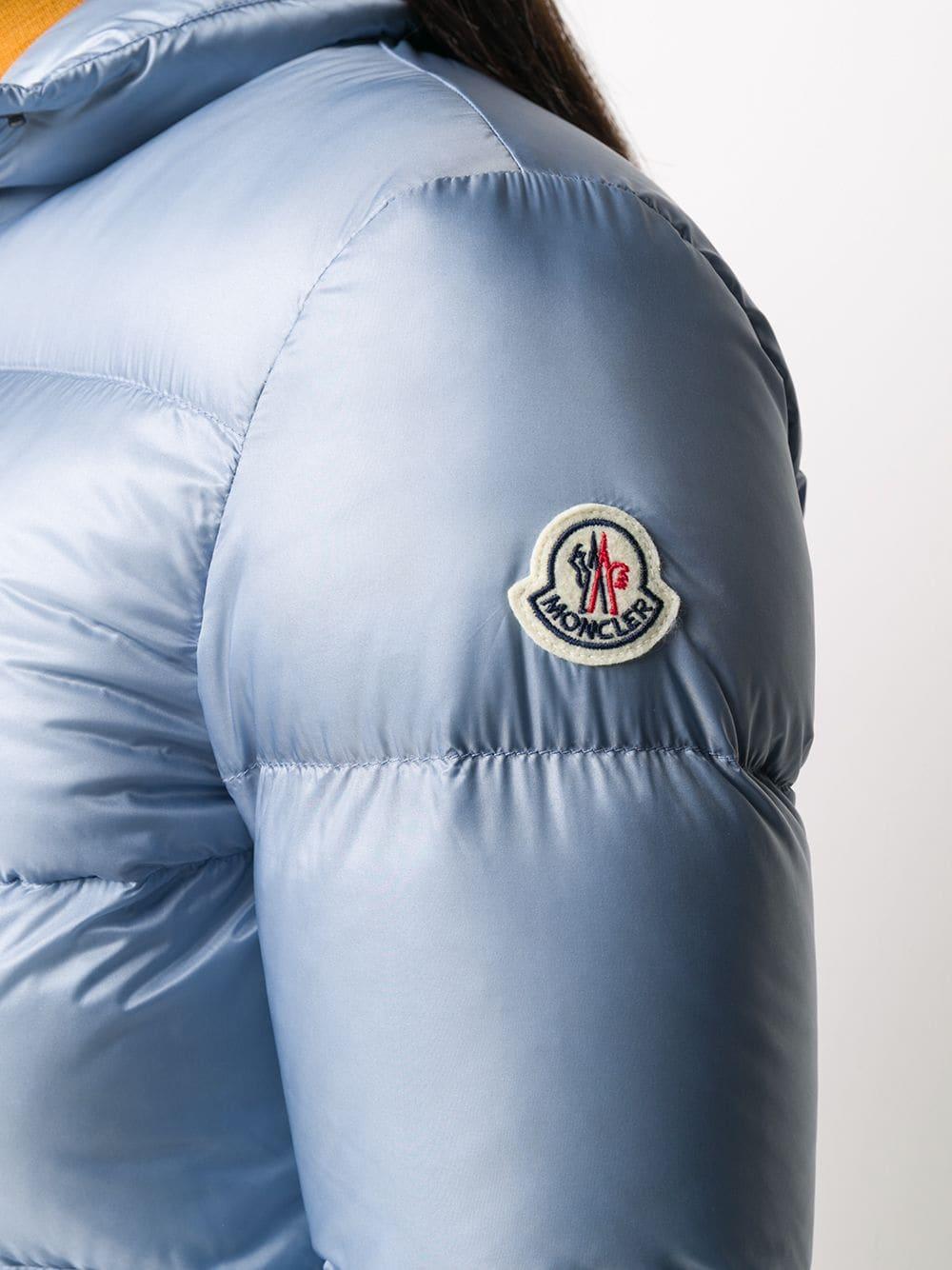 piumino azzurro Lannic in nylion e piuma d'oca MONCLER | Piumini | LANNIC 1A202-00-C0229715