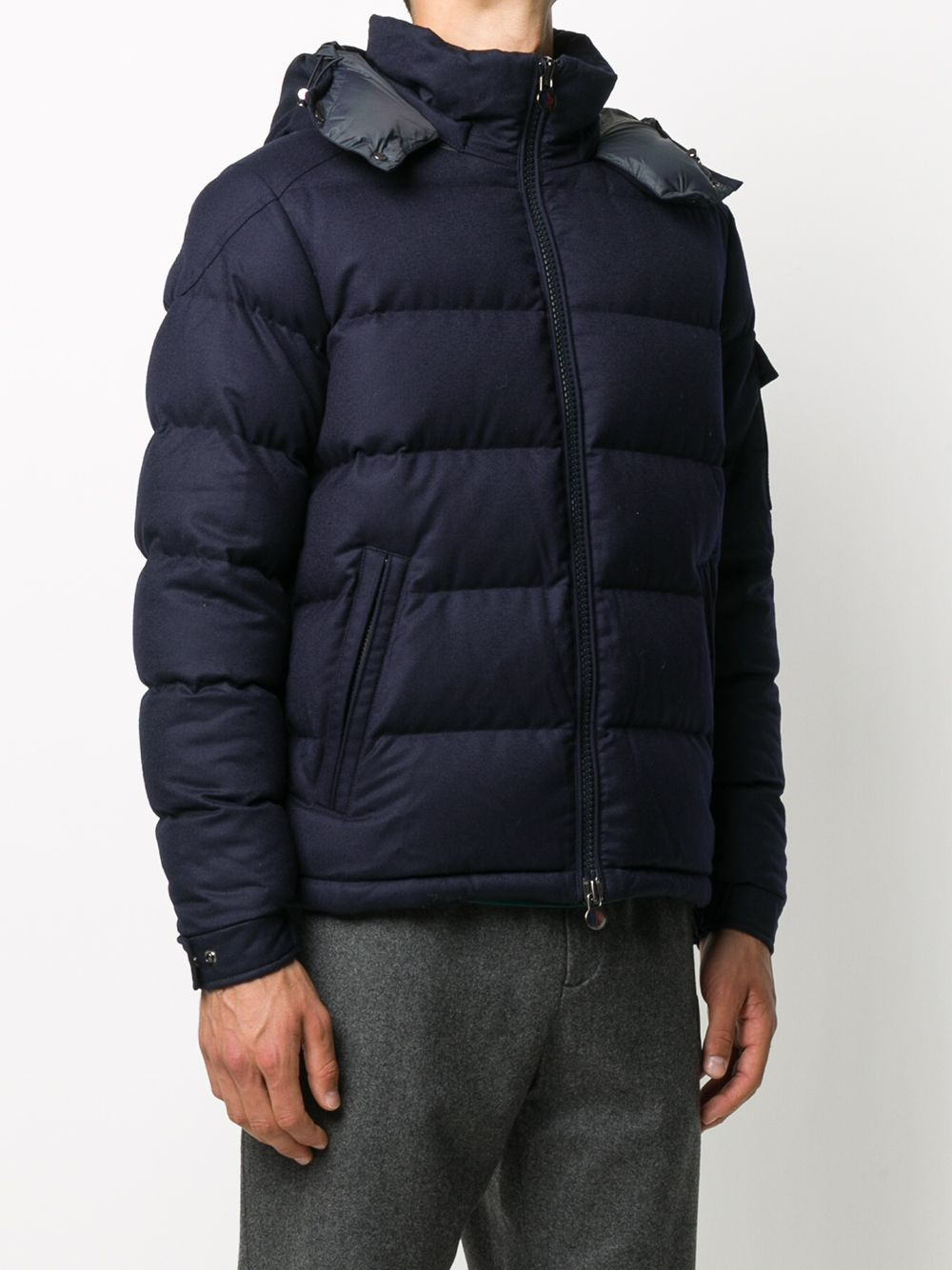 navy blue feather down zip-up padded Montgenevre jacket MONCLER |  | MONTGENEVRE 1A537-00-54272742