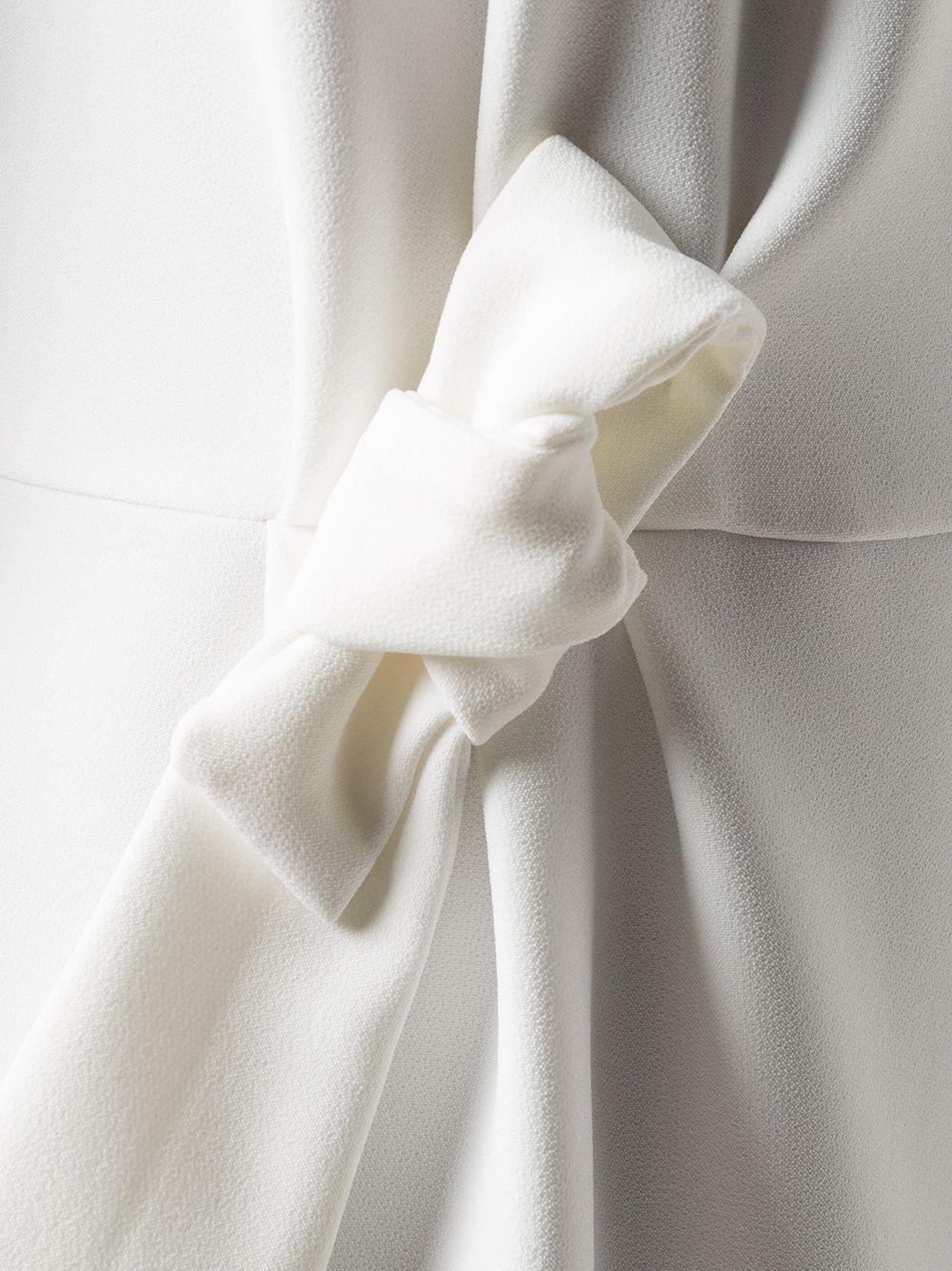Abito midi bianco con fiocco P.A.R.O.S.H. | Abiti | D723437-PROTONE002