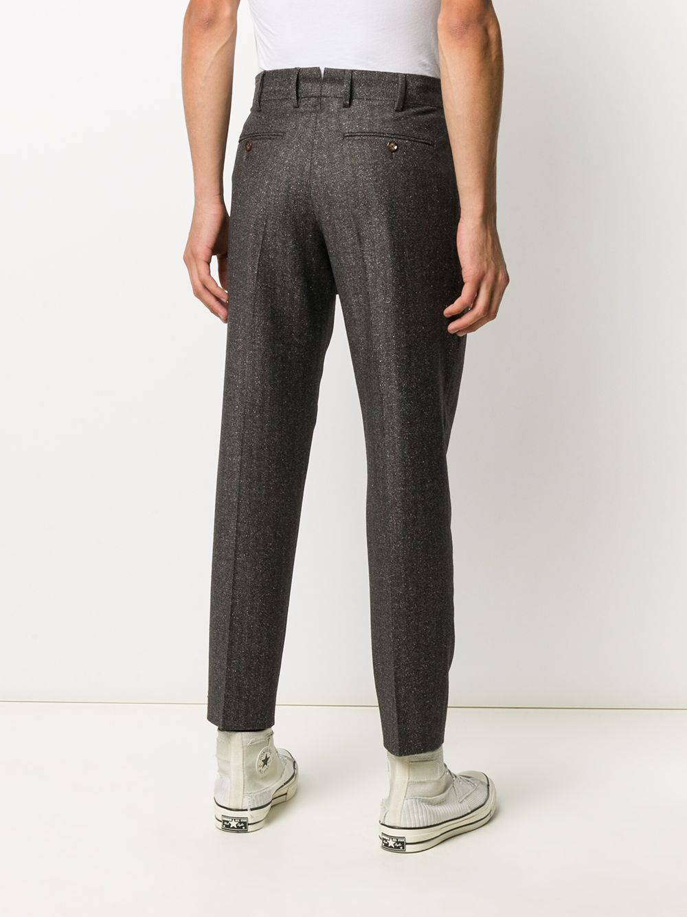 Anthracite gray wool and silk trousers  PT01 |  | CORFZ0Z00AND-ZI450180