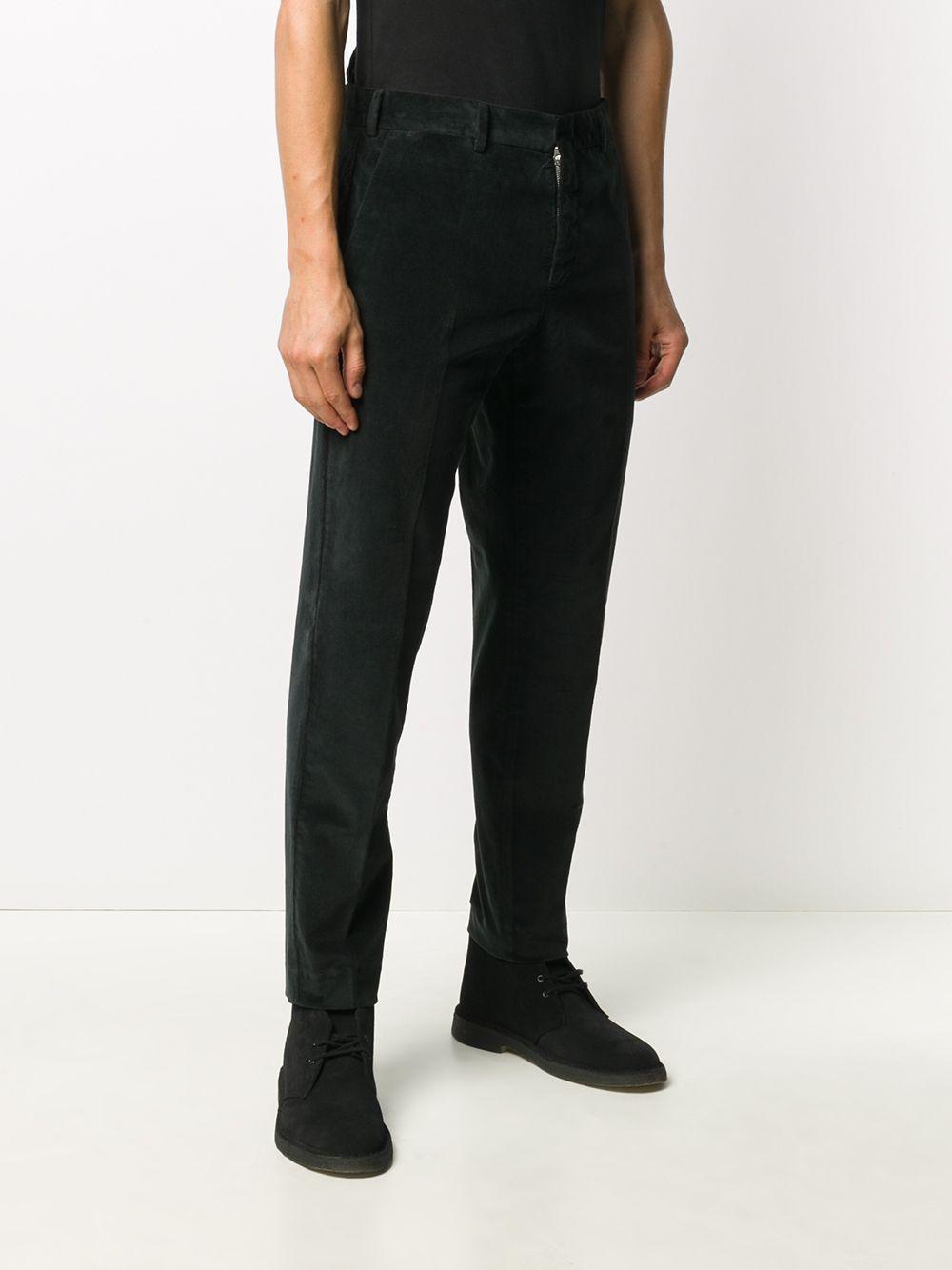 Black stretch cotton corduroy trousers  PT01 |  | CORTZ0Z00AND-TT270990
