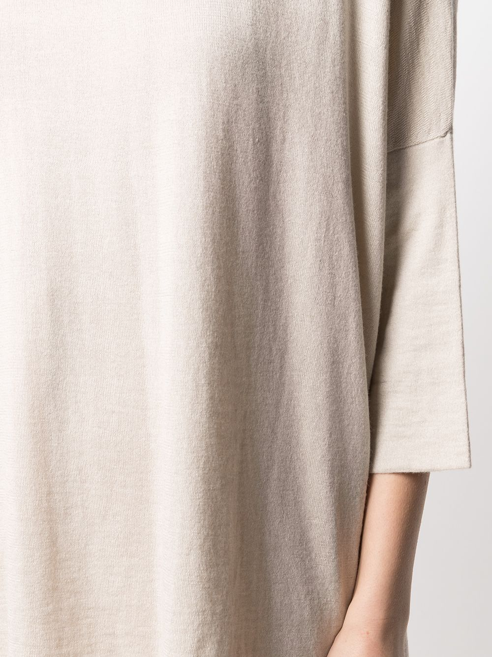 desert beige silk-cashmere blend loose-fit sweater  SNOBBY SHEEP |  | 20X.80170060