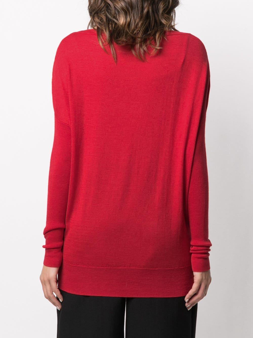 maglione rosso Grace in misto seta-cashmere SNOBBY SHEEP | Maglieria | 20X.GRACE330