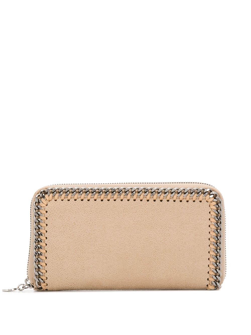 portafoglio continental beige Falabella con zip dorata STELLA MC CARTNEY | Portafogli | 434750-W91329300