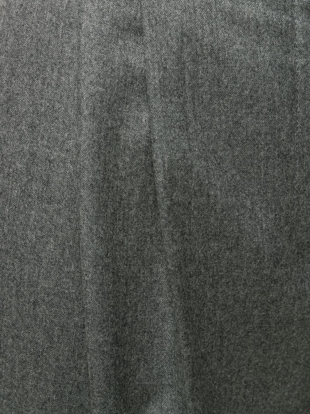 pantaloni classici sartoriali in lana di colore grigio STELLA MC CARTNEY | Pantaloni | 591964-SNB531262