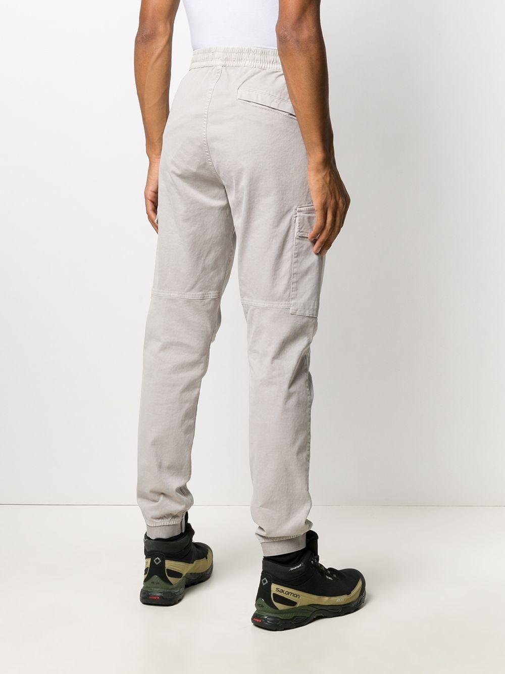 pantalone cargo colot tortora in twill cotone stretch STONE ISLAND | Pantaloni | 7315314L1V0192