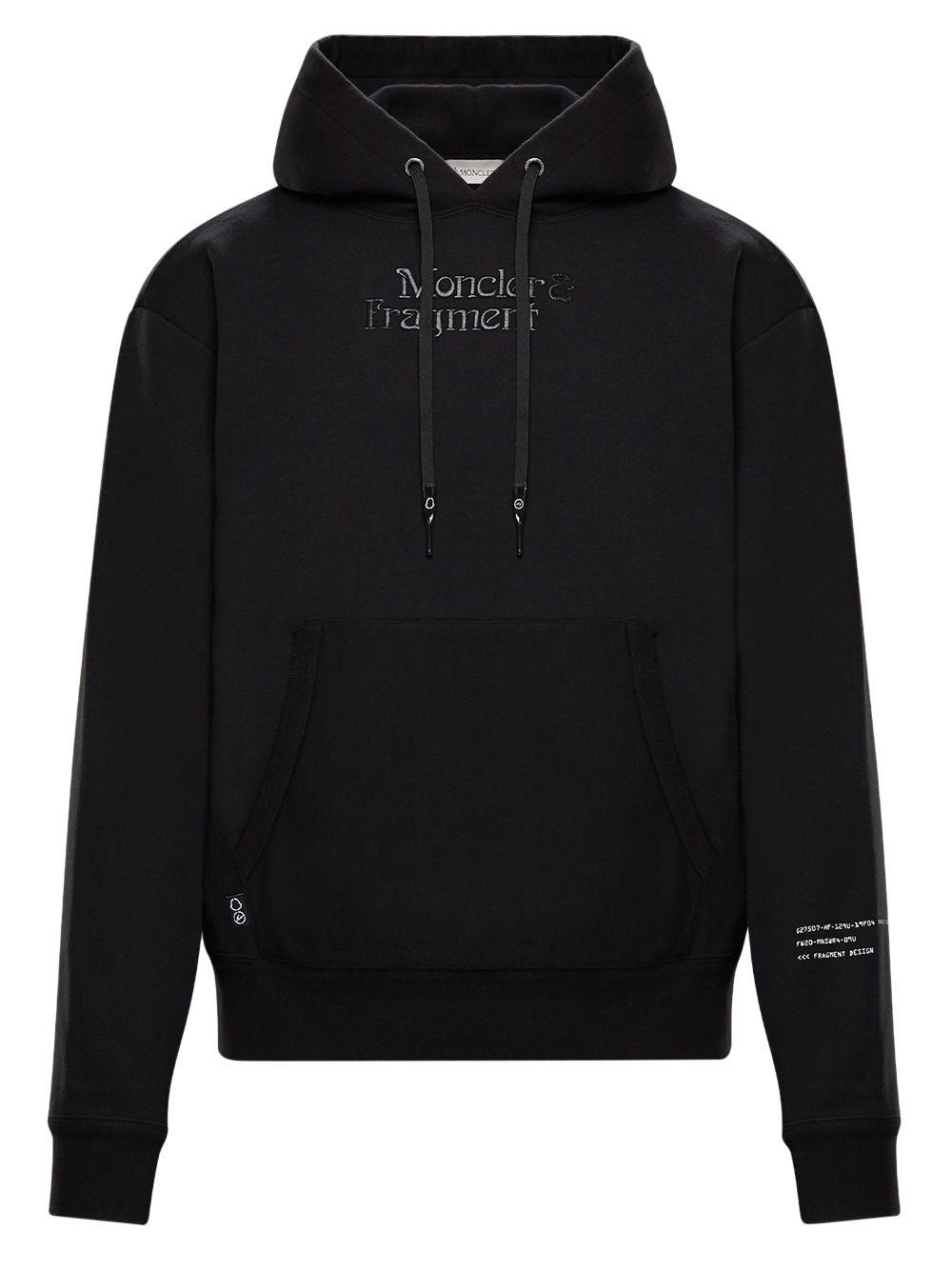black long sleeves hoodie MONCLER GENIUS |  | 8G709-10-809F4999