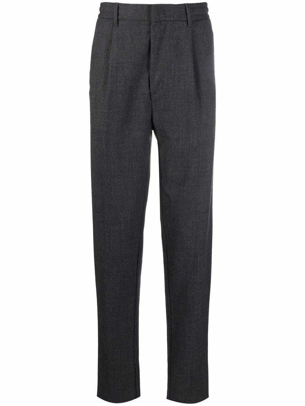 pantalone stretto in cotone grigio a vita media ALTEA | Pantaloni | 216301989