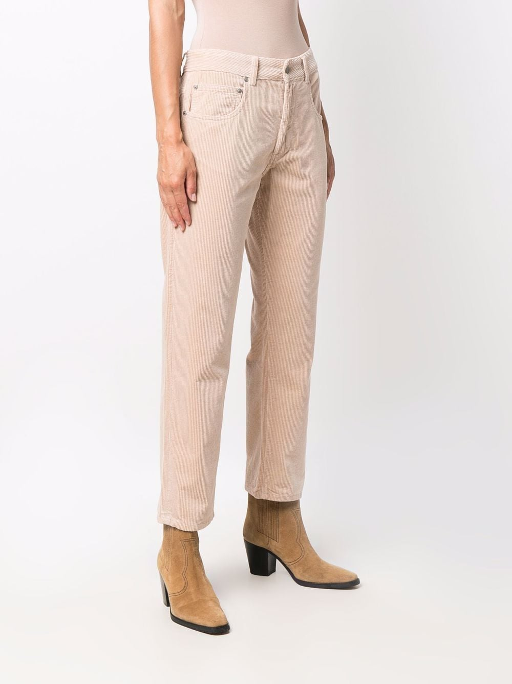 Beige cotton corduroy straight-leg trousers  ASPESI |  | 0180-E79285083