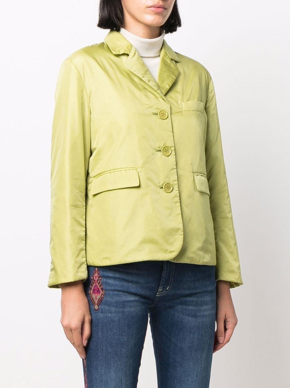 Green single-breasted blazer jacket  ASPESI      1N18-796196153