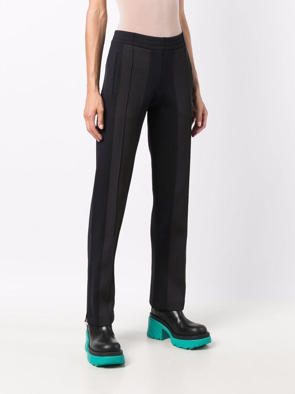 Pantalone sportivo in tessuto tecnico blu e grigio a contrasto BOTTEGA VENETA | Pantaloni | 665300-V0C102113