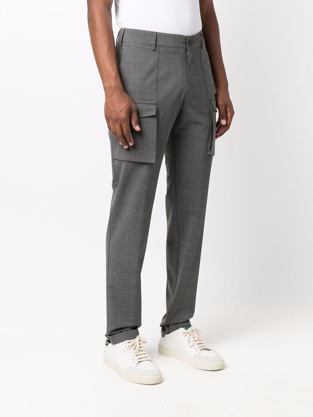 Pantaloni a gamba dritta in lana vergine con piega stirata ELEVENTY | Pantaloni | D75PAND01-TES0A05314