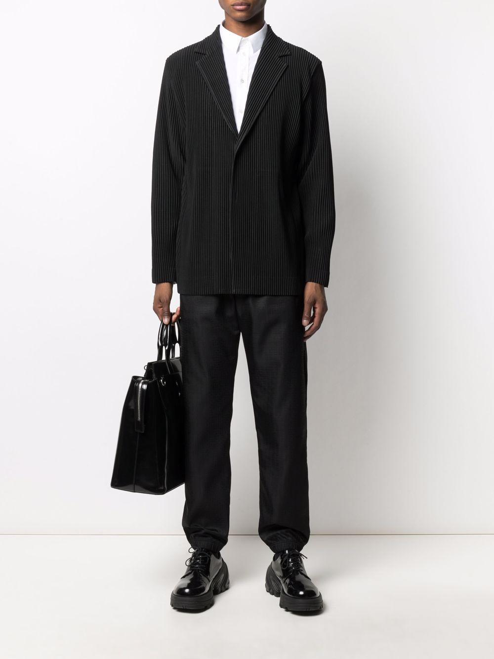 Pantaloni sportivi neri in jacquard con motivo 4G GIVENCHY | Pantaloni | BM50VZ13P9001