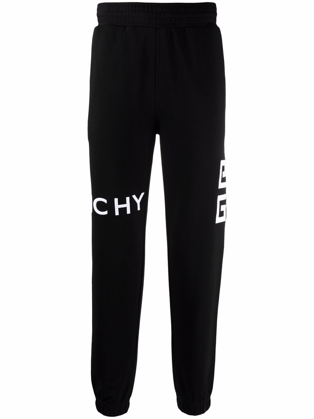 Black cotton Givenchy logo-print sweatpants   GIVENCHY      BM50WB3Y6U001