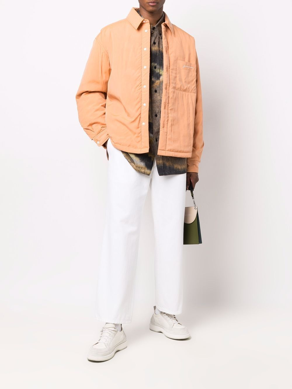 Orange La Chemise Boulanger overshirt  JACQUEMUS      216SH14-129750710