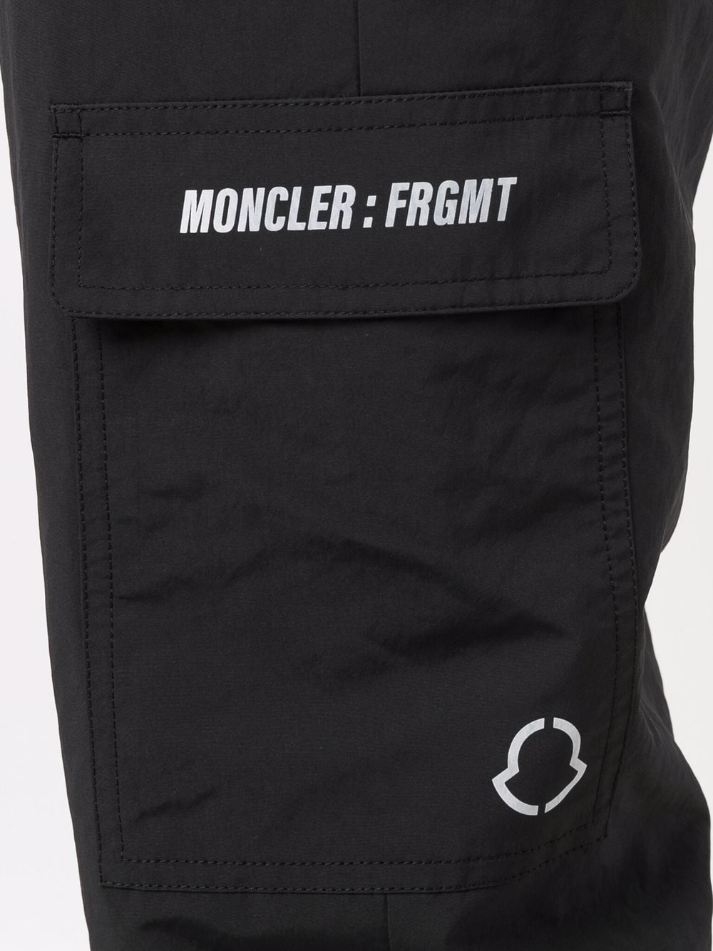black drawstring cargo trousers Moncler Genius x Fragment Design MONCLER GENIUS |  | 2A000-05-5499N999
