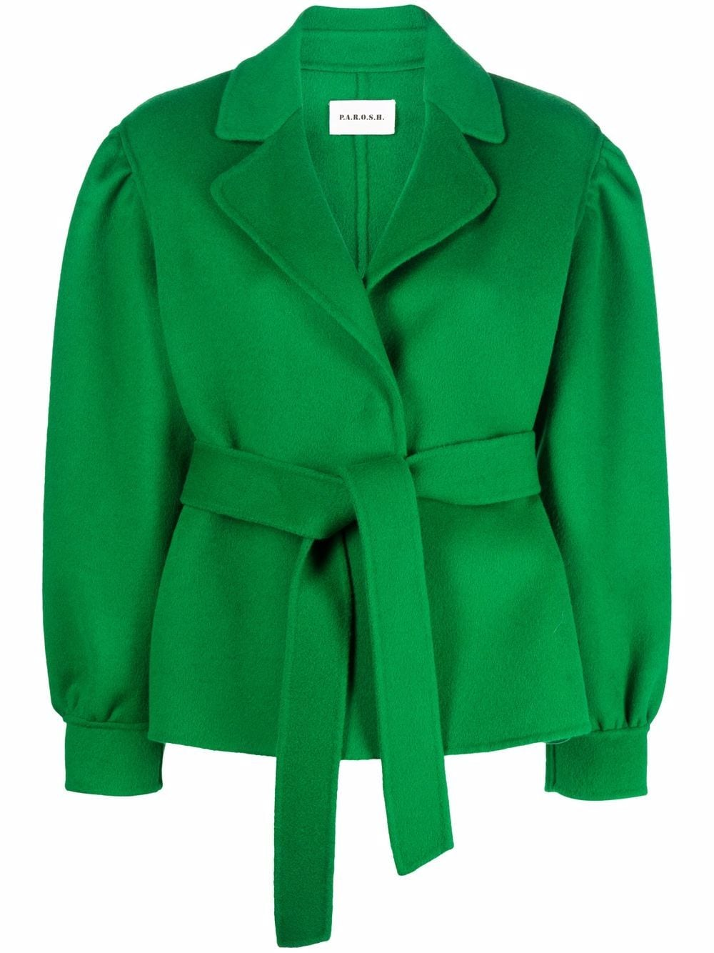 Forest green wool Leak single-breasted jacket  P.A.R.O.S.H. |  | D430892-LEAK005