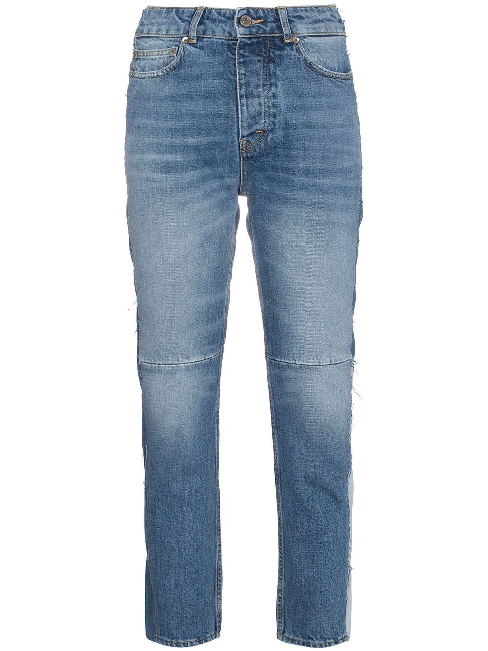 blue Mid rise patchwork jeans  GOLDEN GOOSE |  | G32WP006.A2A2