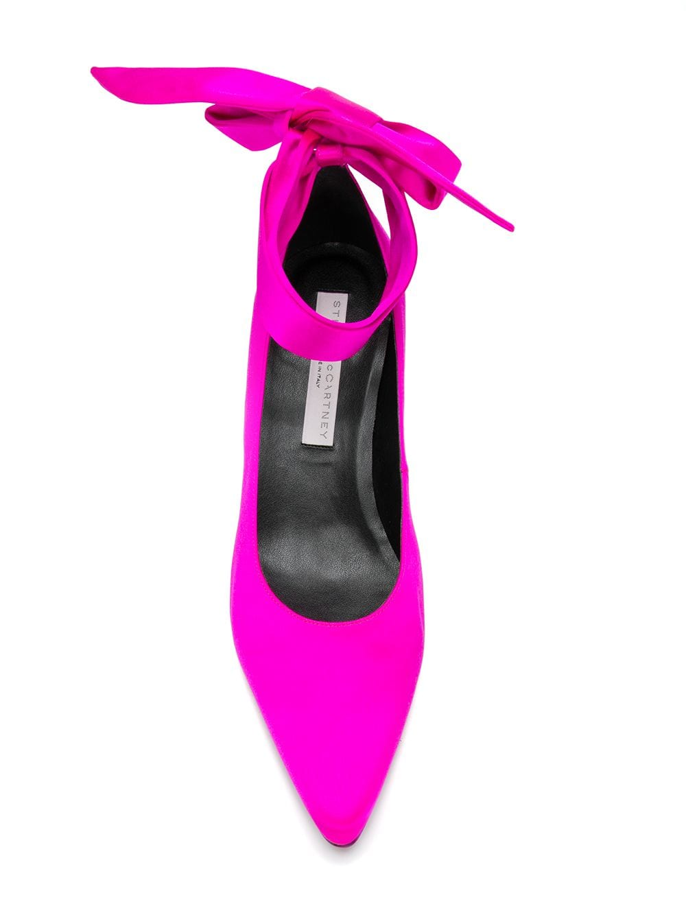 fuxia satin decolletè with ankle fastening STELLA MC CARTNEY |  | 515445-W1A215817