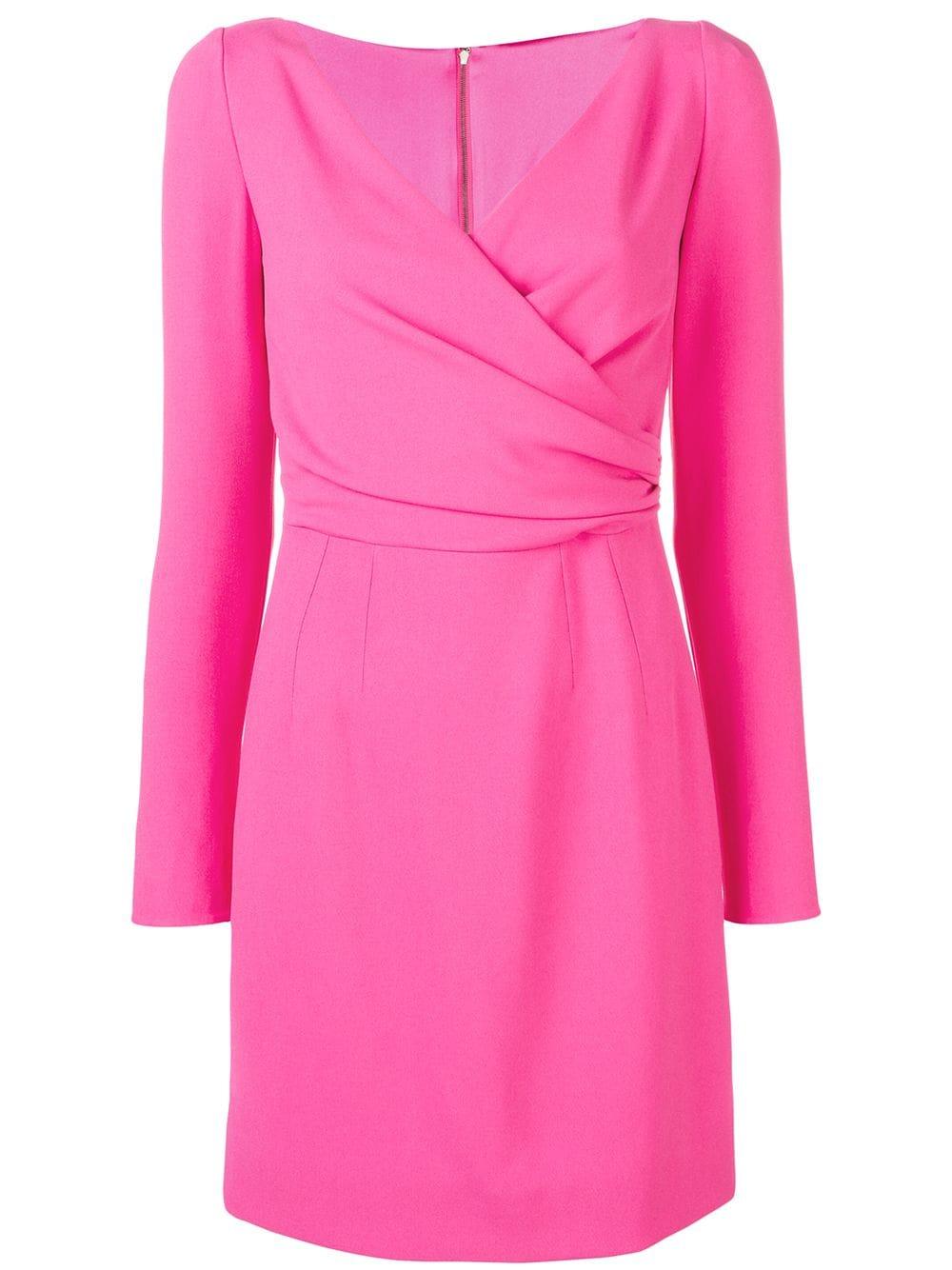 fuchsia pink silk fitted mini dress DOLCE & GABBANA |  | F6D3OT-FURDVF0733