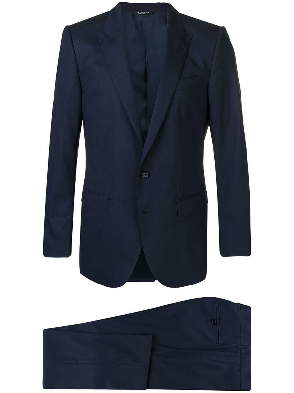 two-pieces dark blue wool smoking DOLCE & GABBANA |  | GK0RMT-FU3NTB0387