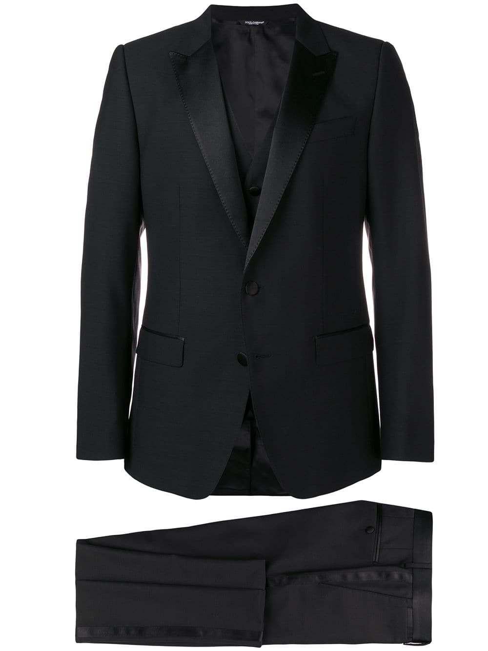 three pieces black wool and silk smoking DOLCE & GABBANA |  | GK2WMT-FU2OXN0000