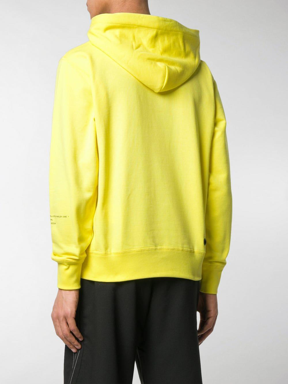 Yellow Moncler Genius x Fragment Design hoodie MONCLER GENIUS      80037-50-809DW114