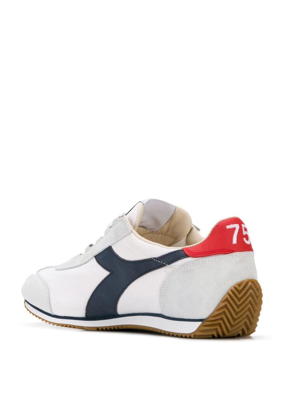 sneakers Equipe scamosciata con dettagli in pelle ghiaccio DIADORA   Scarpa   174735--EQUIPE H CANVAS SWC4656