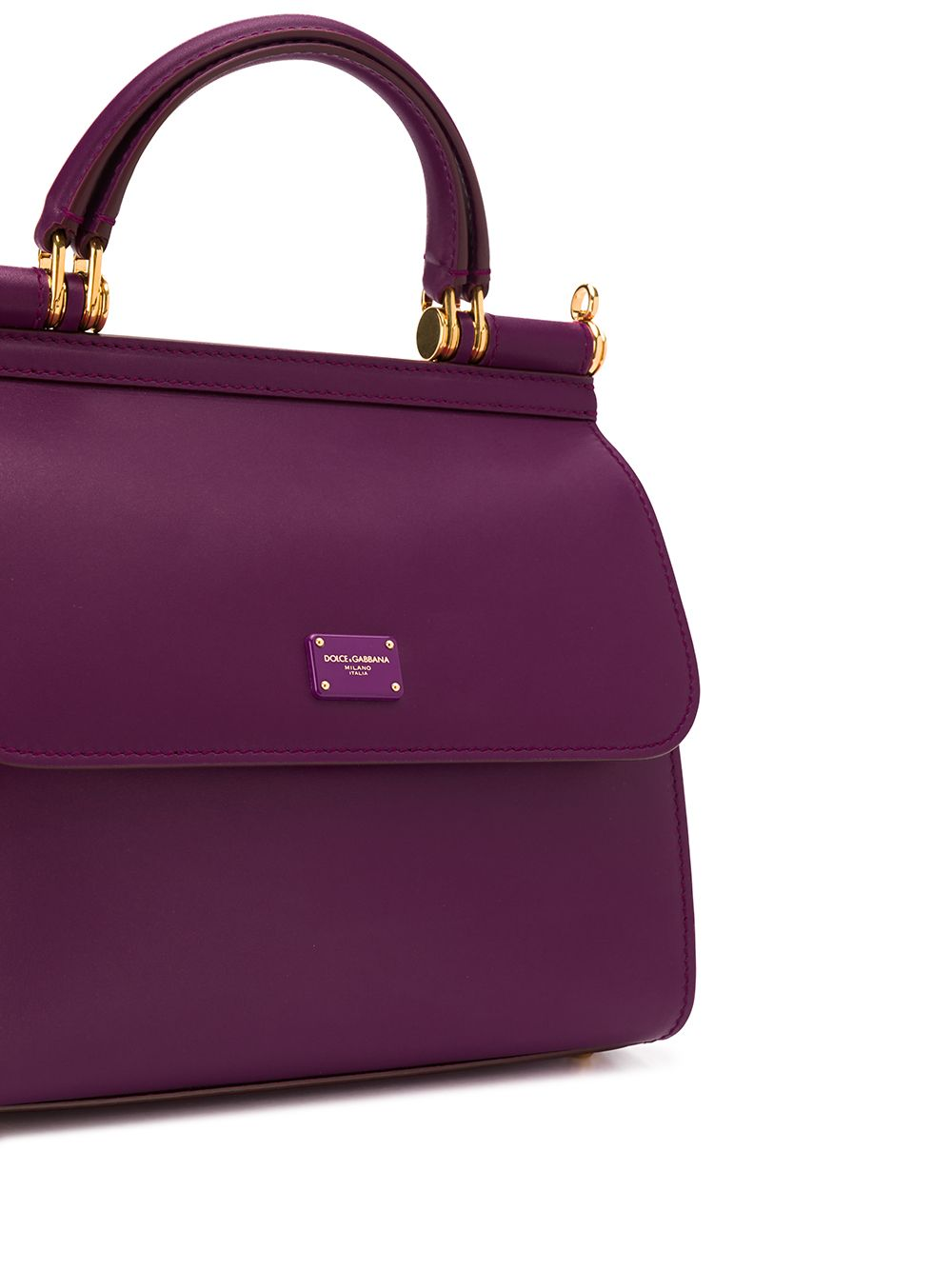 Sicily 58 tote bag in purple calf leather DOLCE & GABBANA |  | BB6622-AV3858H315