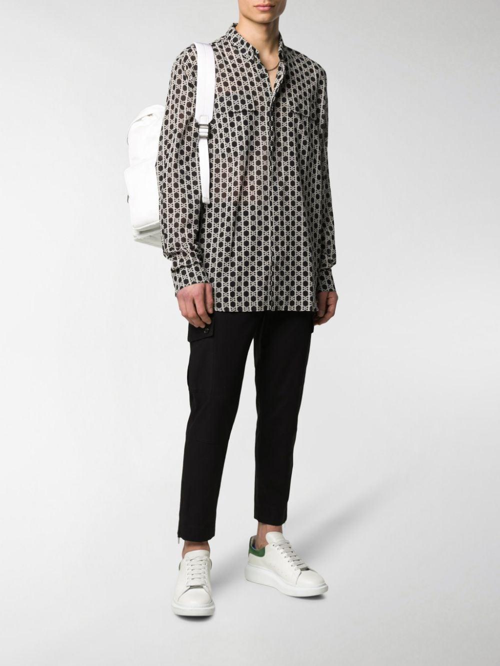 black slim fit cropped cotton cargo pants DOLCE & GABBANA |  | GYA8ET-G8BQ2N0000